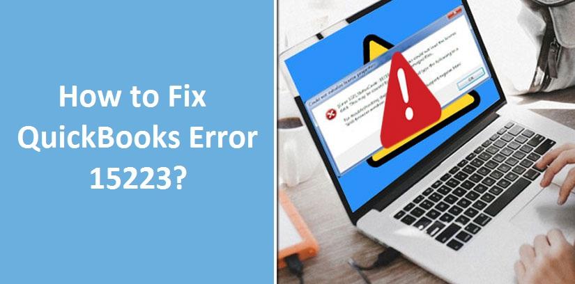 quickbooks error 15223 update