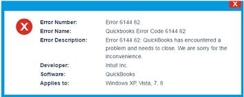 error 6144 82 quickbooks