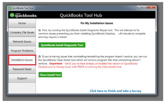 Quickbooks installation issues