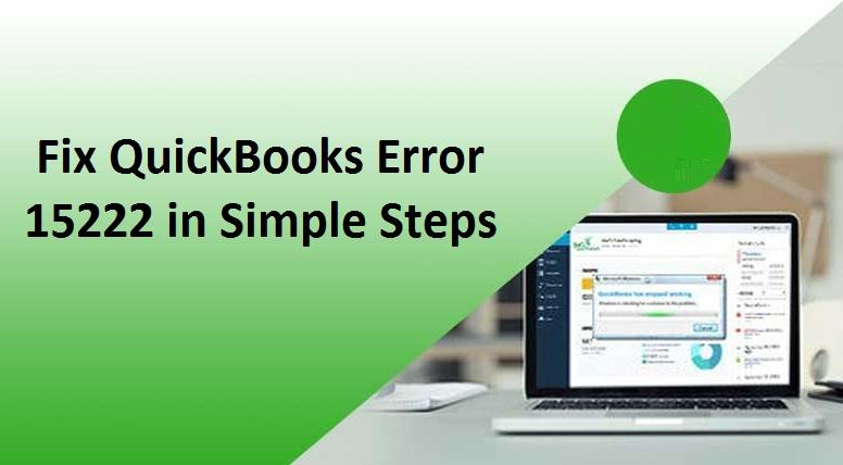 quickbooks update error 15222