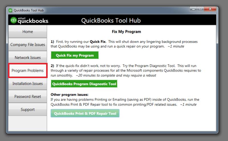 quickbooks tool hub runtime error 0 in quickbooks