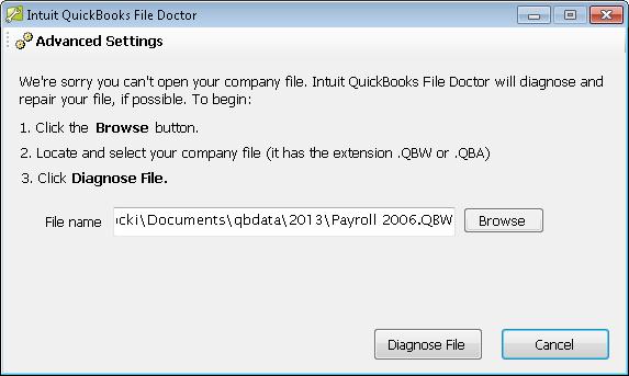 quickbooks error -6123