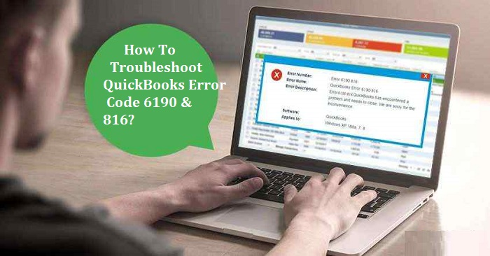 quickbooks error -6190 -816