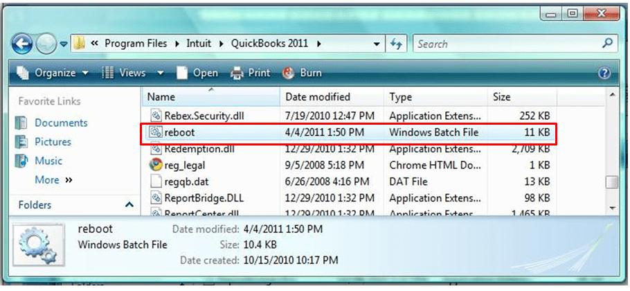 rebbot error code 80029c4a in quickbooks