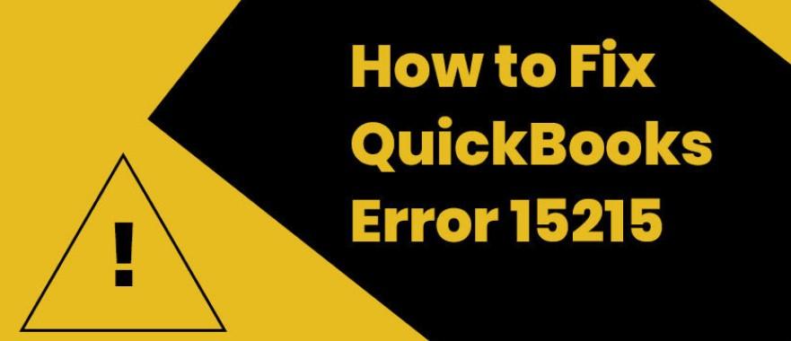 quickbooks error #15215