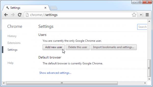 additional user error