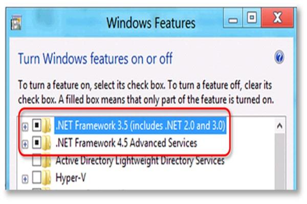 quickbooks web connector net framework error