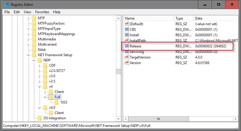 QB Installation Error