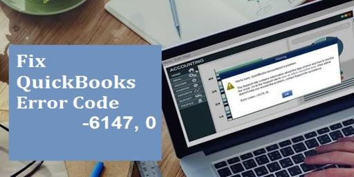 quickbooks error -6147
