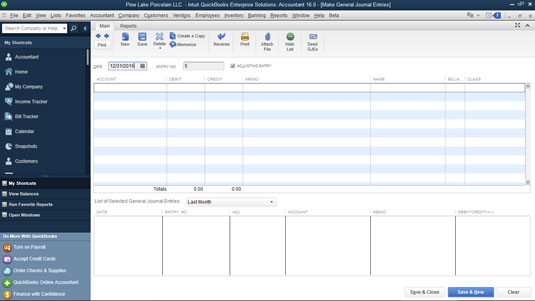how to view journal entries in quickbooks,