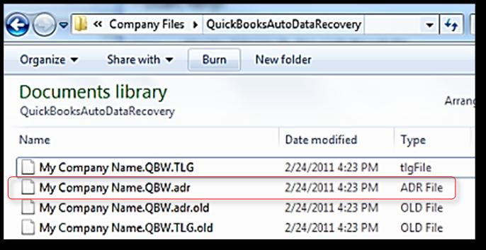 how to restore quickbooks auto data recover