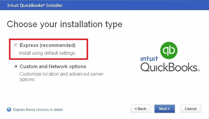 express install quickbooks enterprise 2018 download