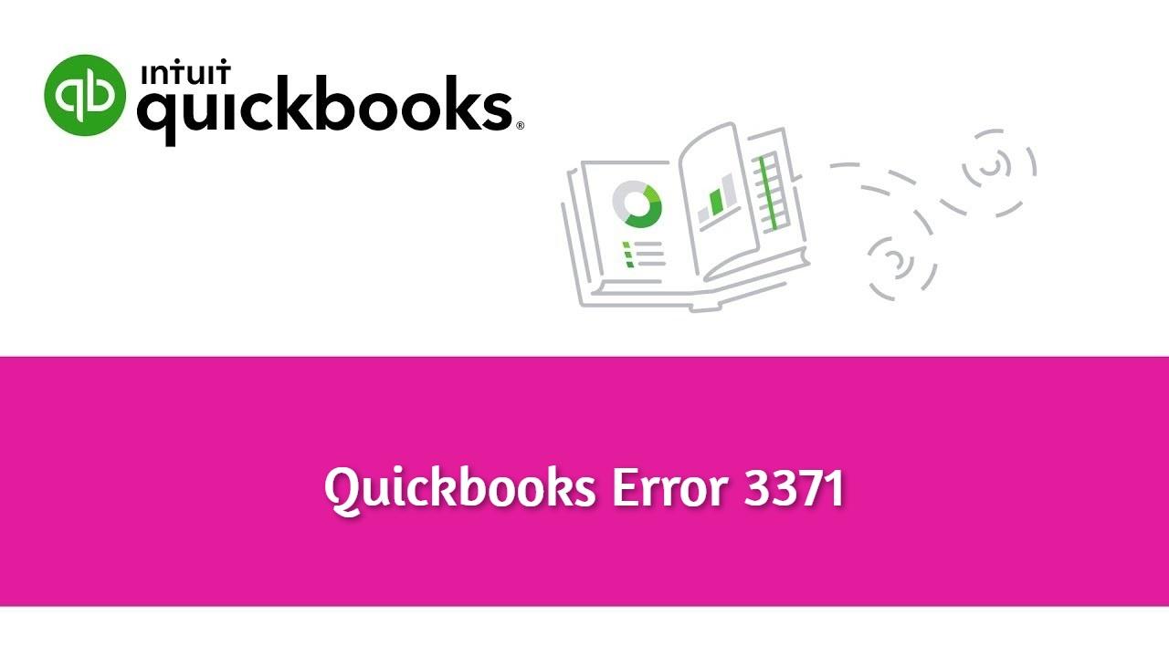 repairing QuickBooks error 3371 manually