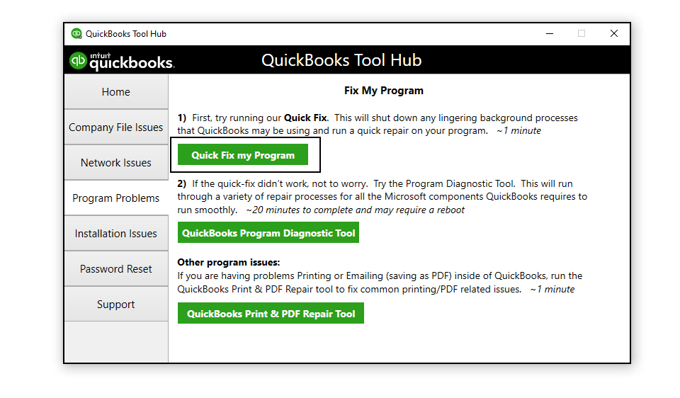 QuickBooks Has Stopped Working