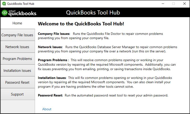 Quickbooks tool hub to fix QuickBooks Tool Hub