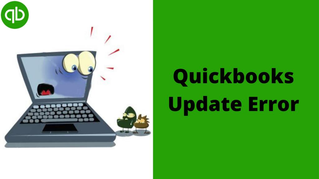 QuickBooks update error